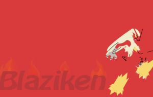 Blaziken High Definition