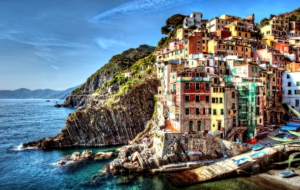 Cinque Terre Background