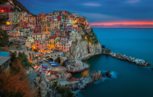 Cinque Terre HD Background