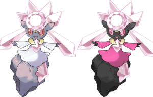 Diancie Widescreen