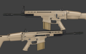 FN SCAR Rifle High Definition Wallpapers