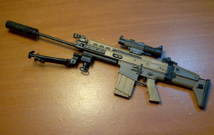 FN SCAR Rifle High Quality Wallpapers
