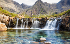 Fairy Pools, Isle Of Skye Widescreen