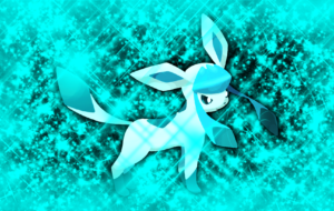 Glaceon Computer Wallpaper