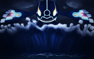 Kyogre HD Background