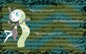 Meloetta High Quality Wallpapers