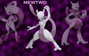Mewtwo HD Background