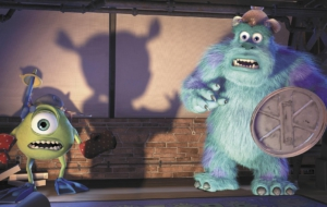 Monsters Inc HD Desktop