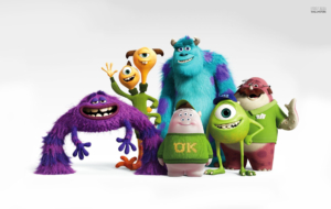 Monsters Inc Widescreen