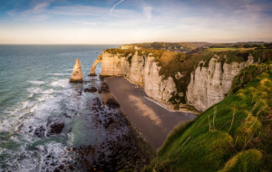 Sea Cliffs, Etretat Widescreen