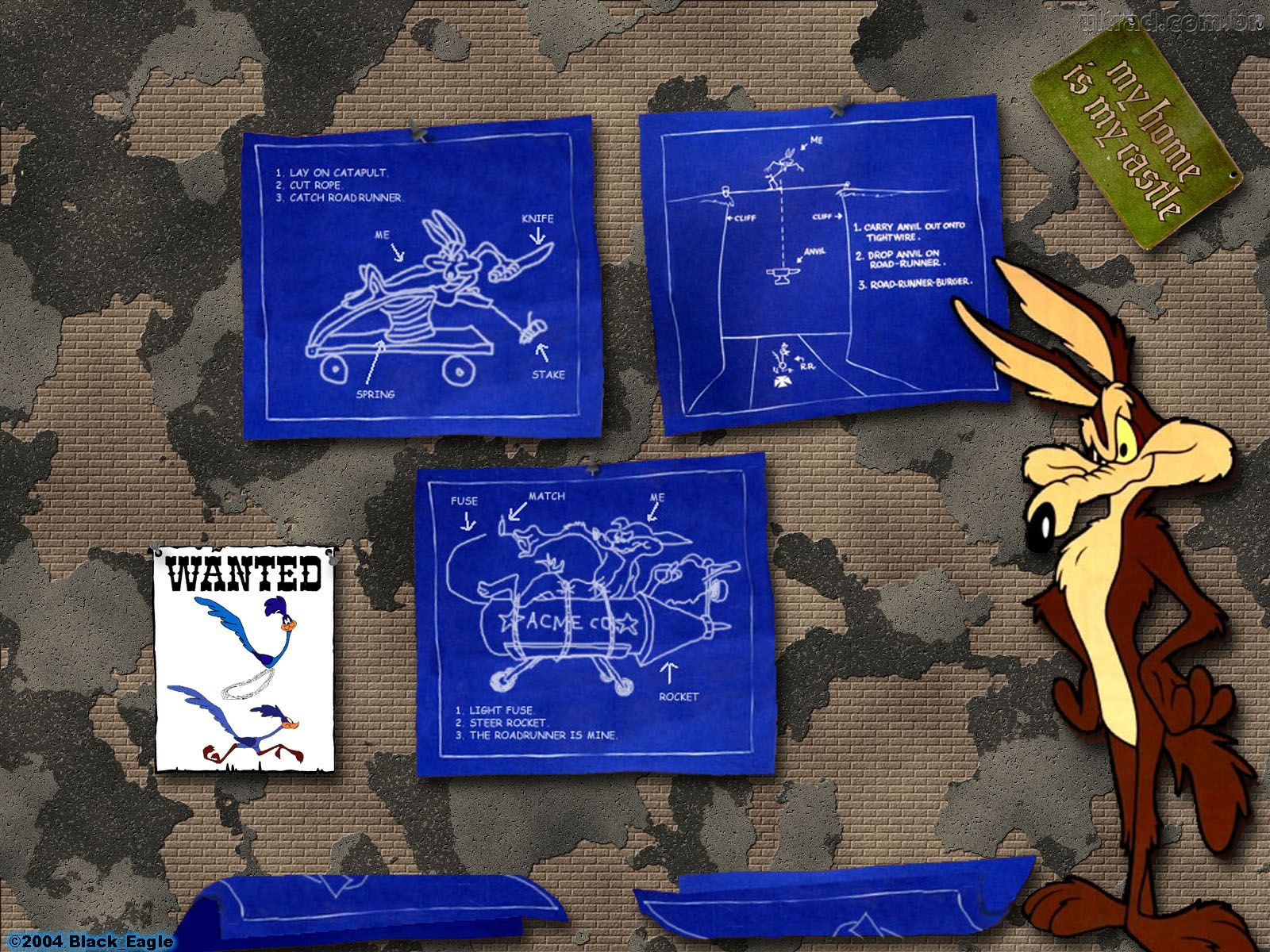 Wile E. Coyote HD Wallpapers