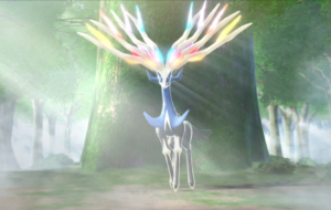 Xerneas Computer Wallpaper