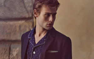 Douglas Booth HD Background
