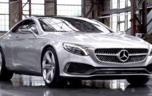 Mercedes S Class Coupe 2017 High Quality Wallpapers