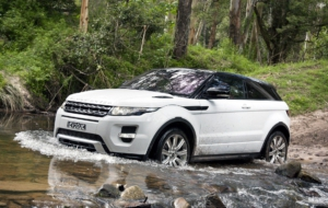 Range Rover Evoque Background