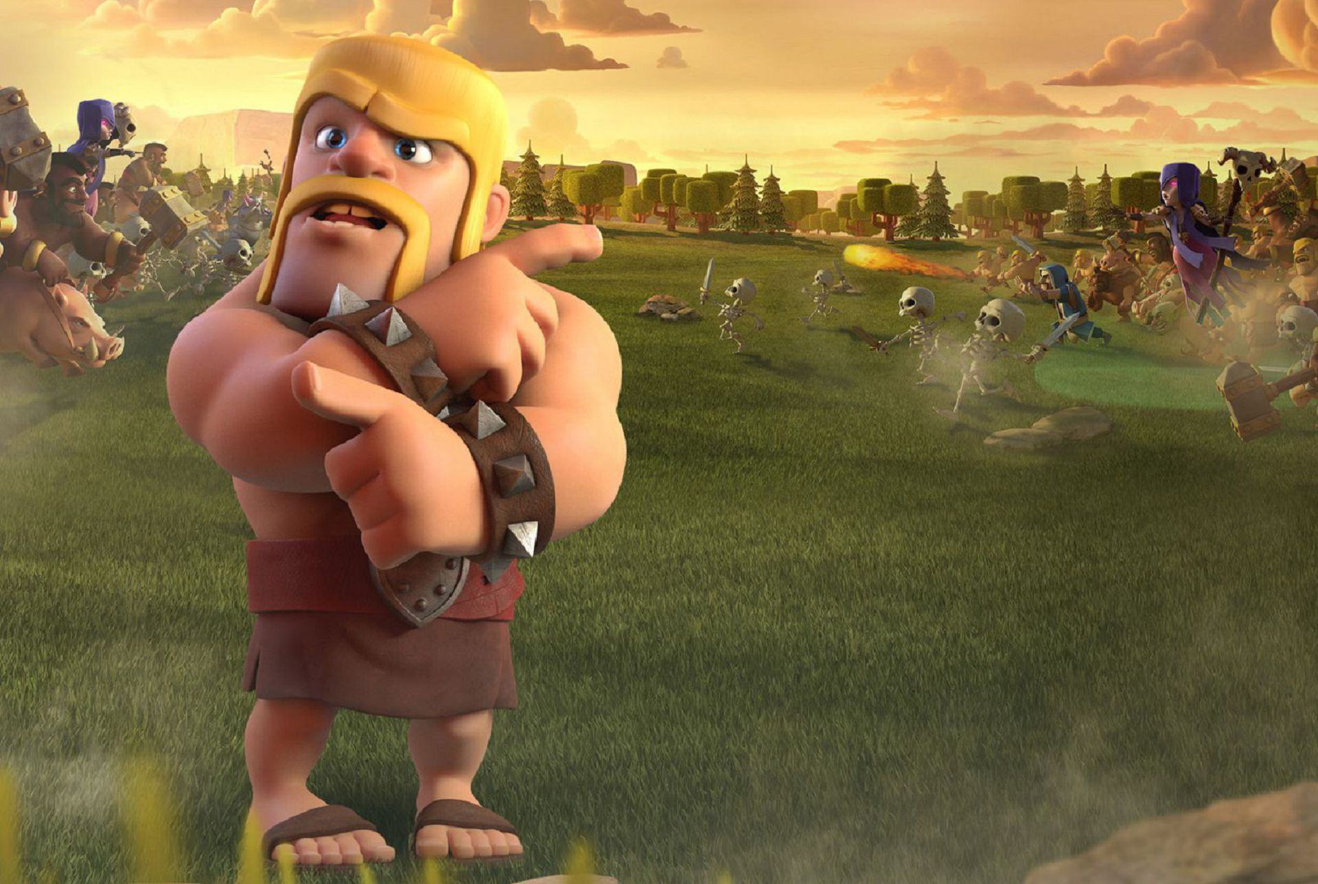 Clash Of Clans Wallpapers Backgrounds