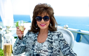 Joan Collins HD Background