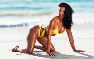 Vida Guerra HD Wallpaper