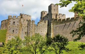 Arundel Castle Background