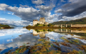 Eilean Donan Castle Background