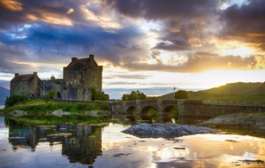 Eilean Donan Castle HD Background