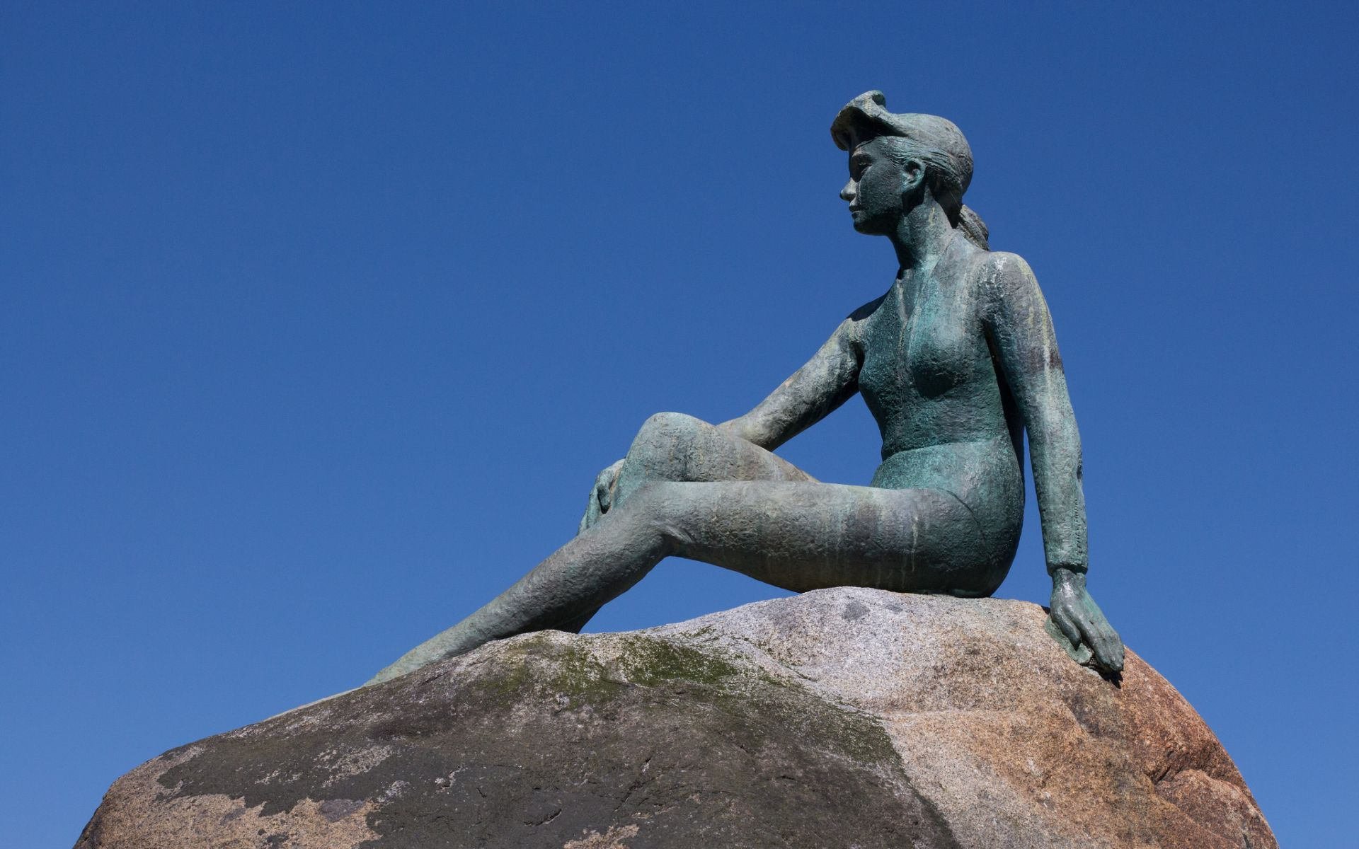 Girl In A Wetsuit Statue