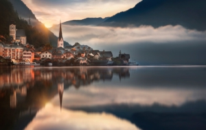 Hallstatt HD Background