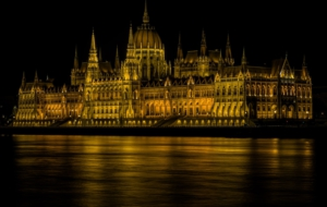Hungarian Parliament Building Background