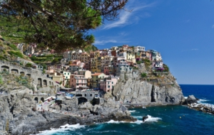 Manarola HD Background