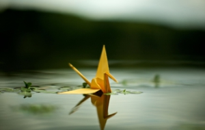 Origami HD Background