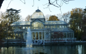 Palacio De Cristal Background