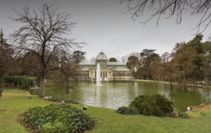 Palacio De Cristal HD Background