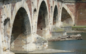 Pont Neuf, Toulouse HD Background