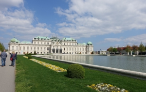 Upper Belvedere Palace Computer Backgrounds