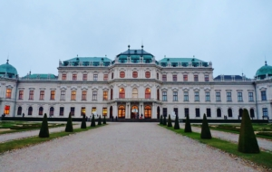 Upper Belvedere Palace Desktop Wallpaper