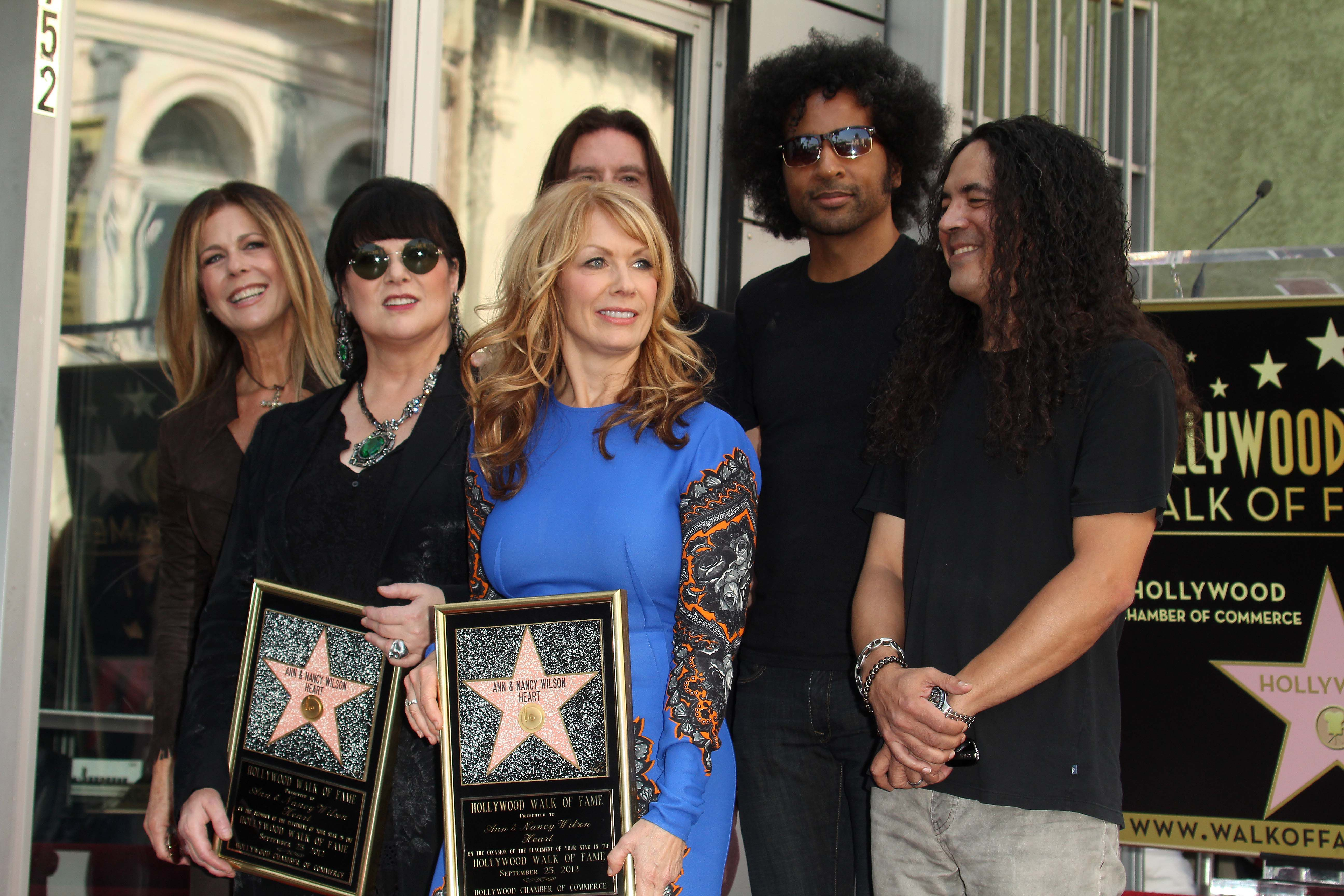 At The Induction Ceremony For Heart Into The Hollywood Walk Of Fame, Hollywood, CA 09 25 12