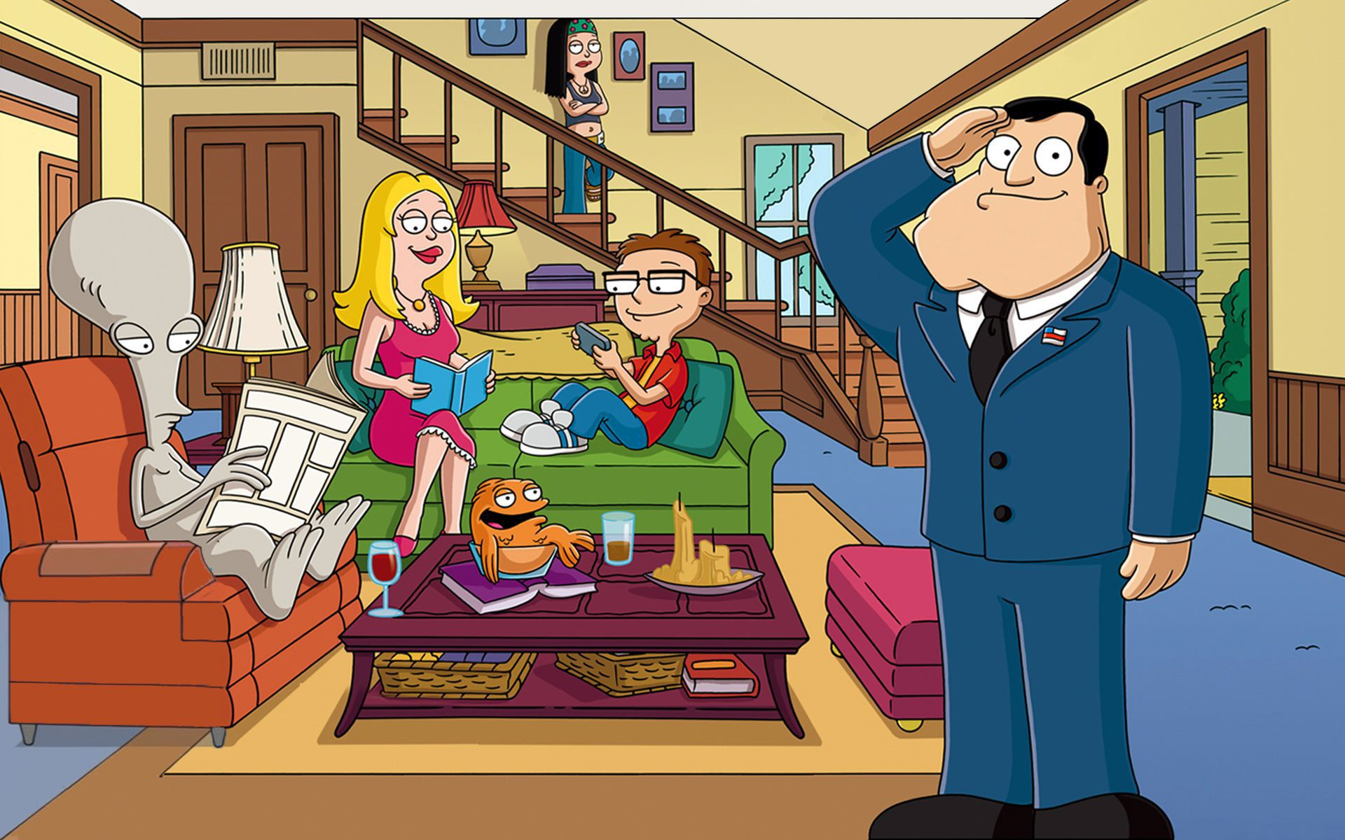 American Dad Wallpapers