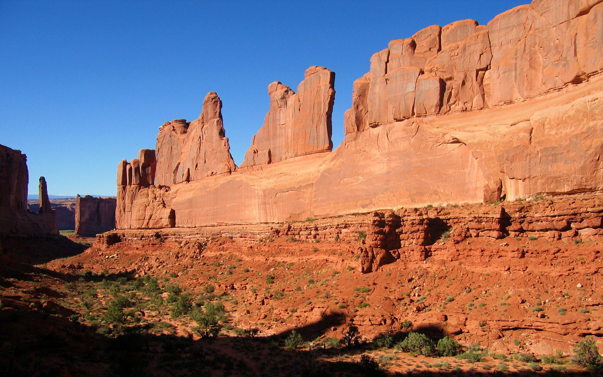 Wallpaper Homes Arches National Beautiful Park