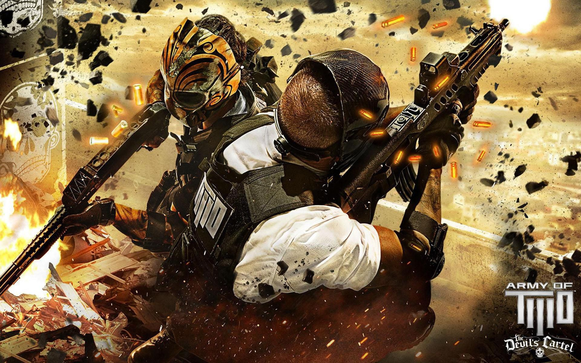 Army Of Two HD Background