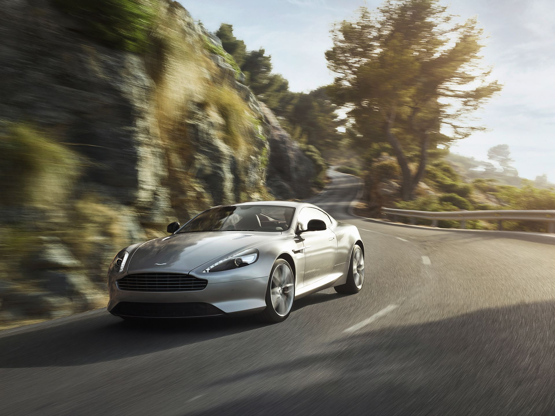 Aston Martin Db9 HD Background