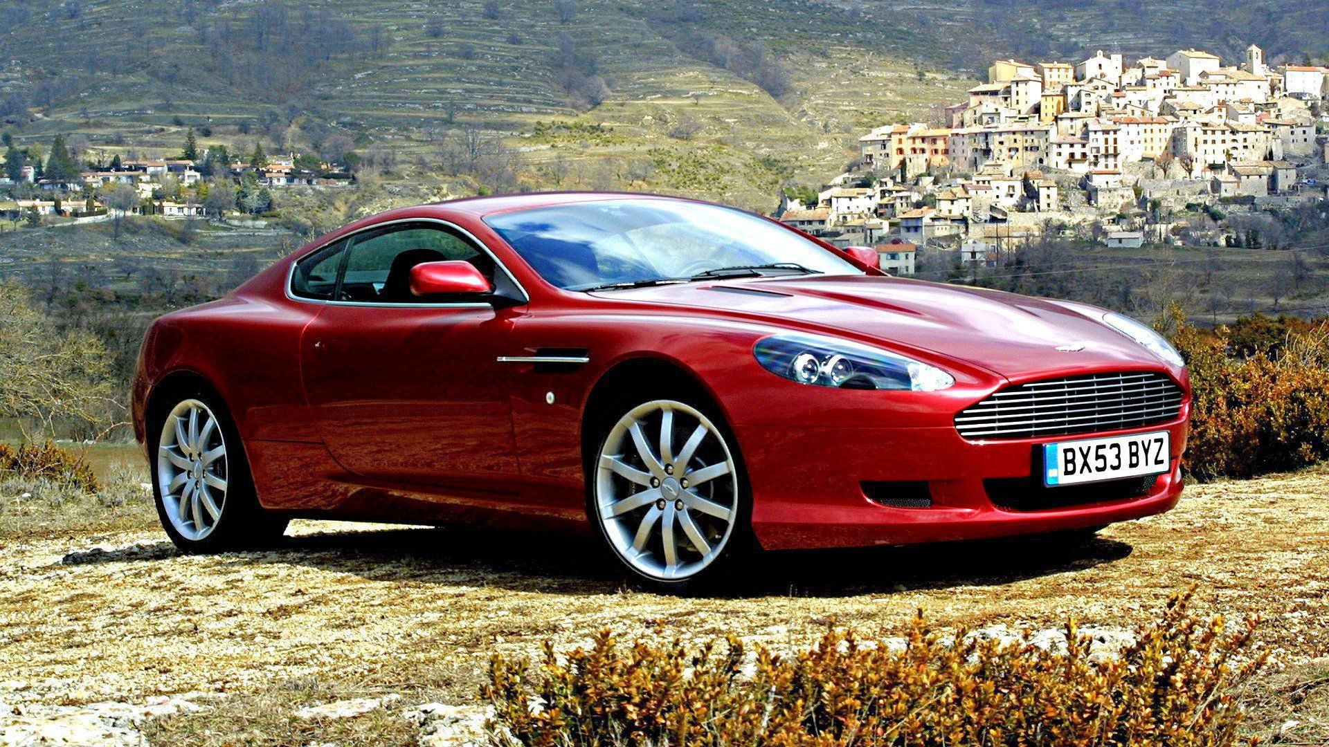Aston Martin Db9 HD Wallpaper
