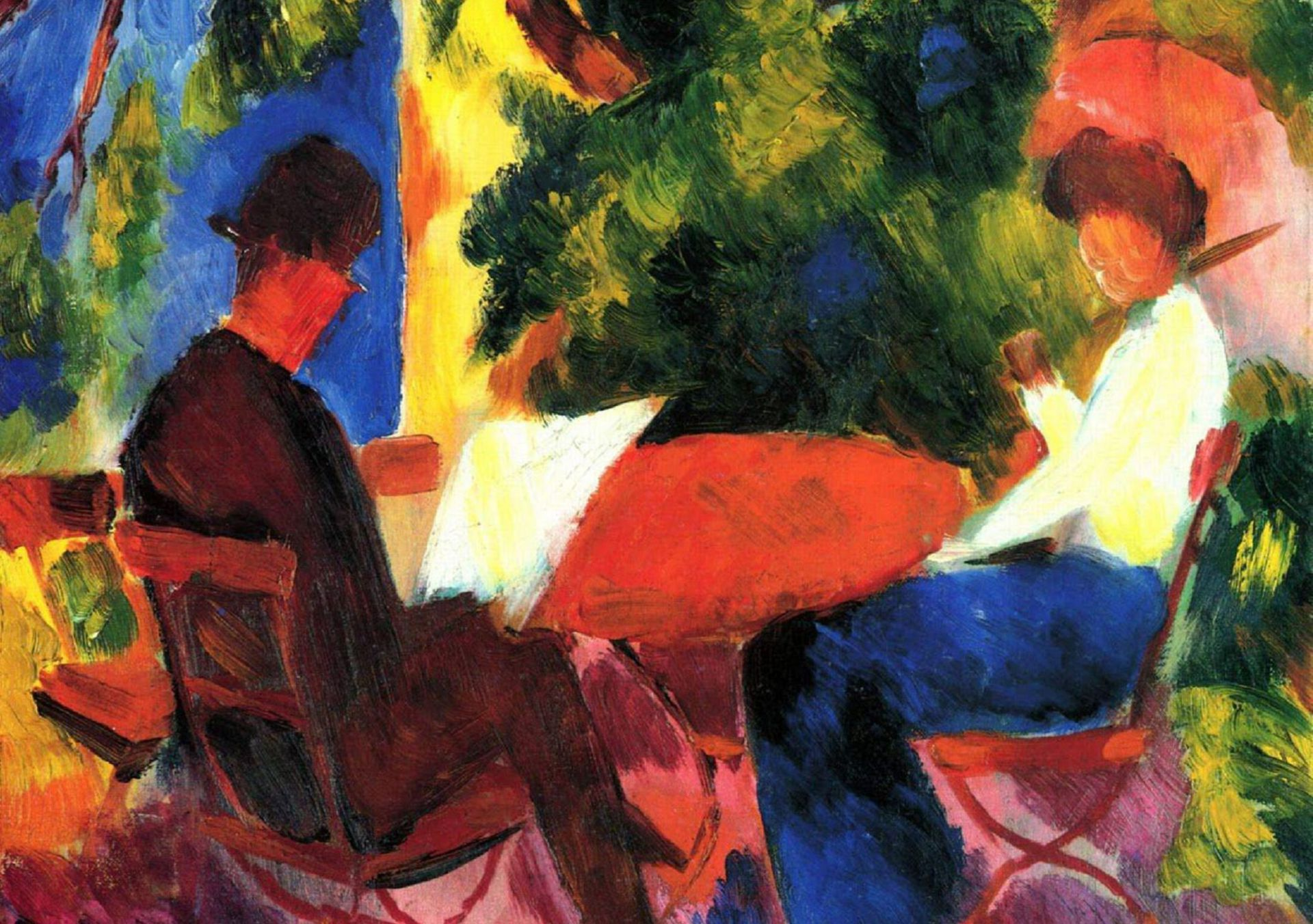 August Macke In High Resolution
