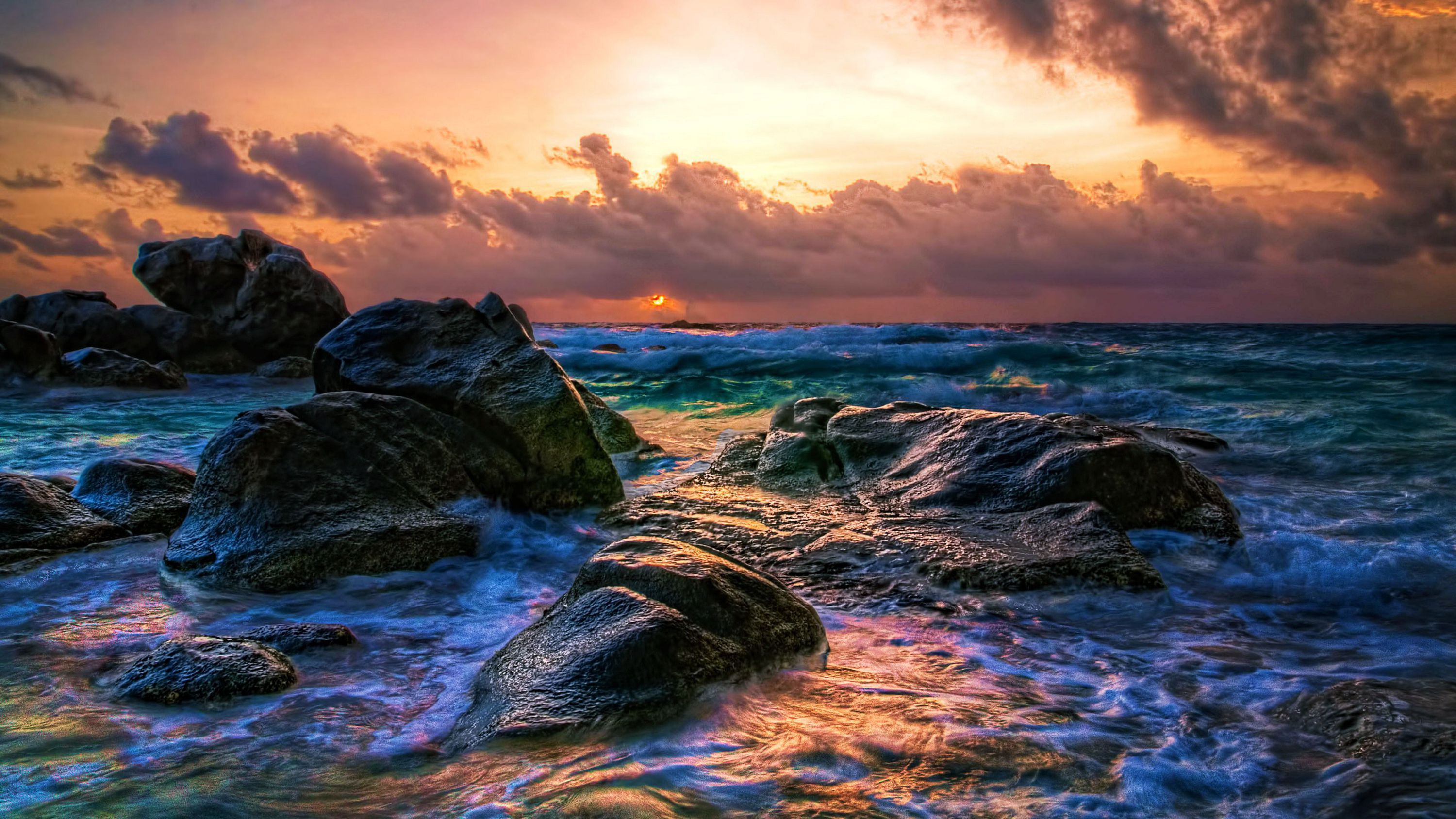 Beach Waves High Quality Wallpapers