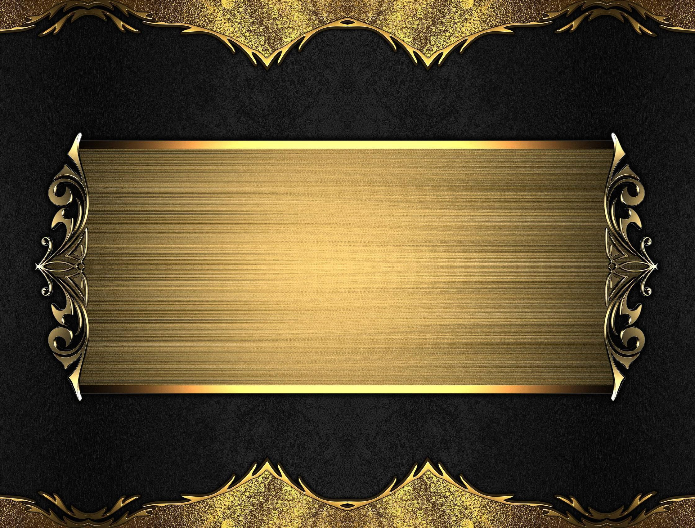 Black And Gold Wallpaper Collection