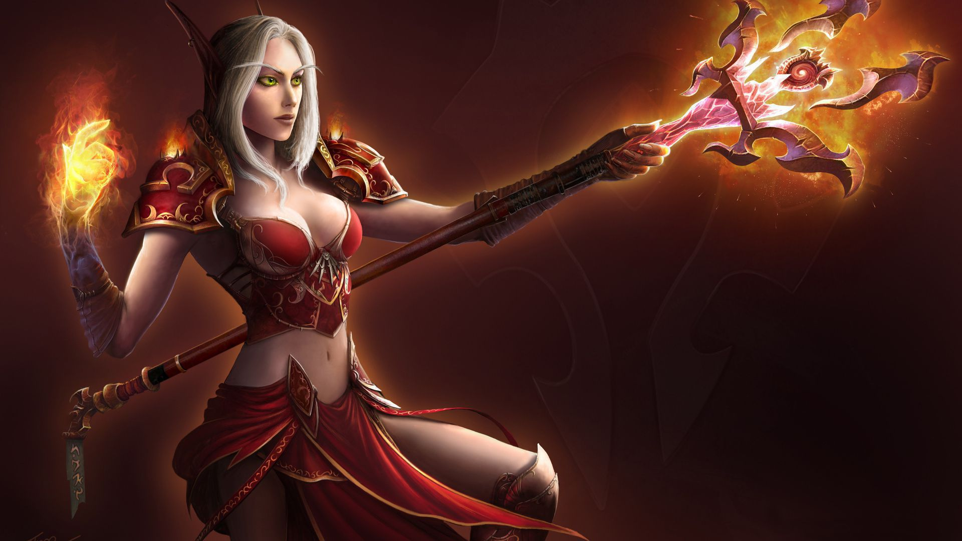 Blood Elf Wallpaper