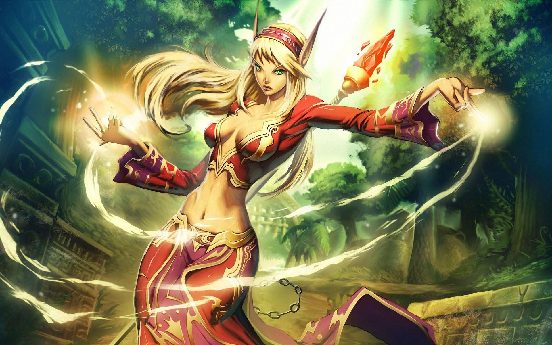 Blood Elf Wallpaper Pack