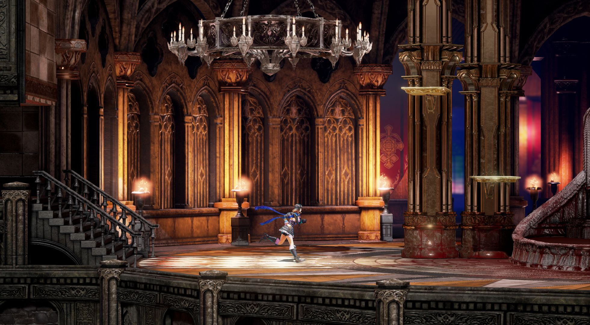 Bloodstained Ritual Of The Night Widescreen