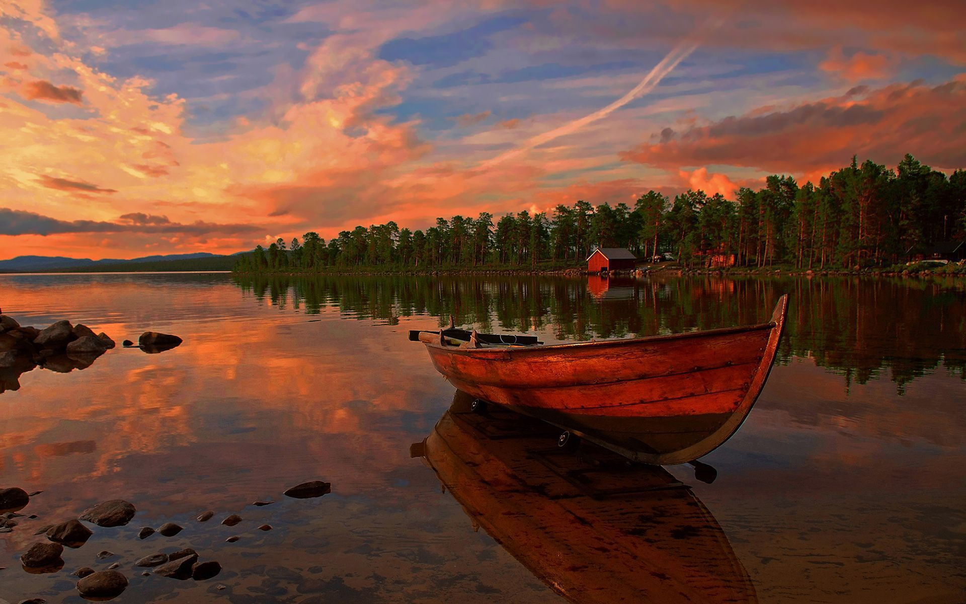 Boat HD Wallpaper