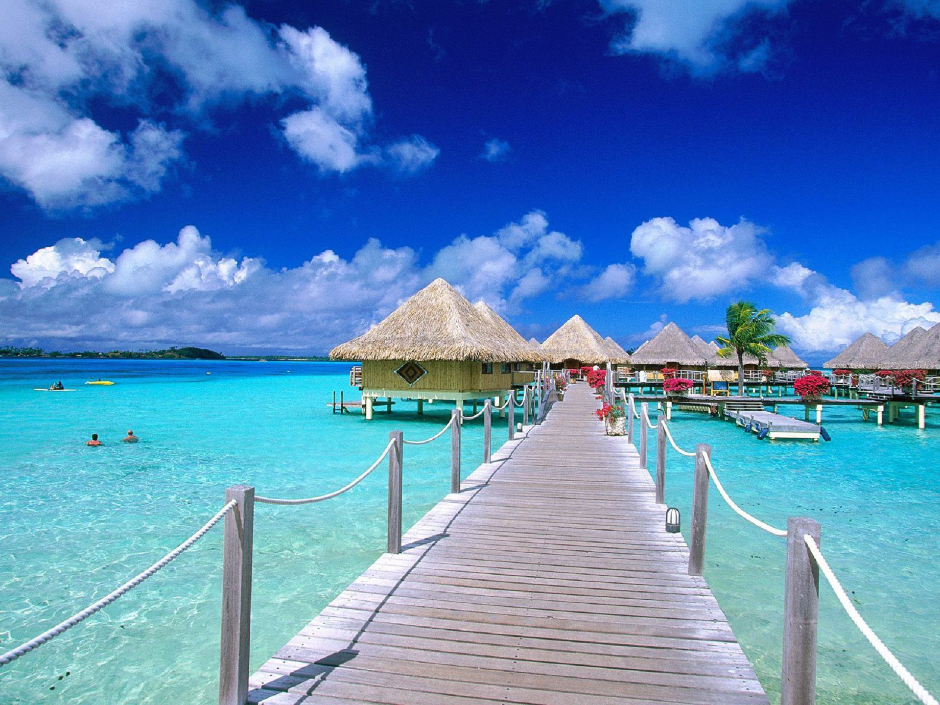 Bora Bora Island Wallpapers