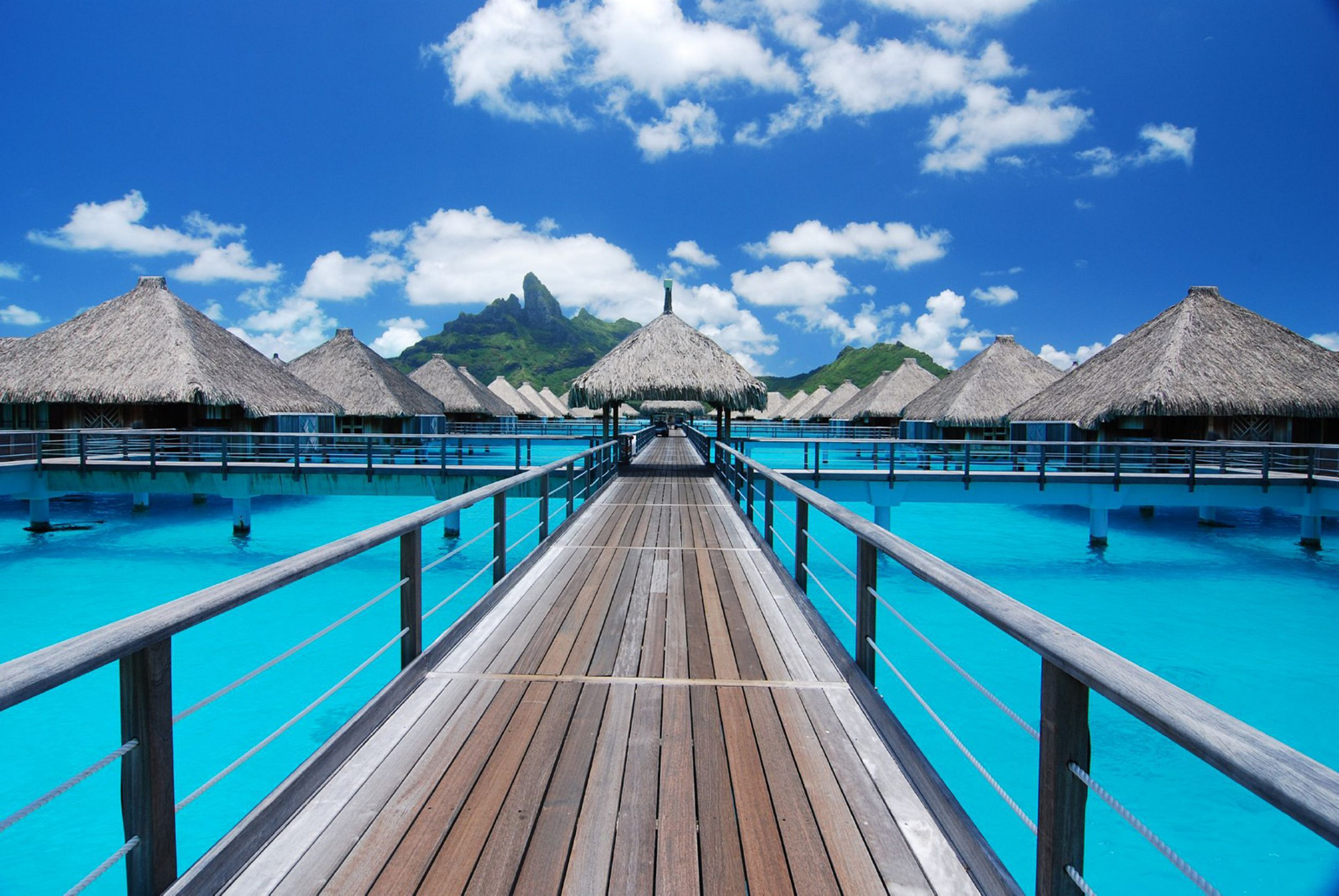 Bora Bora Island For Desktop